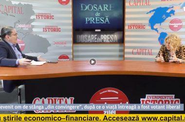 Carmen Avram - invitata lui Mirel Curea la EVZ TV