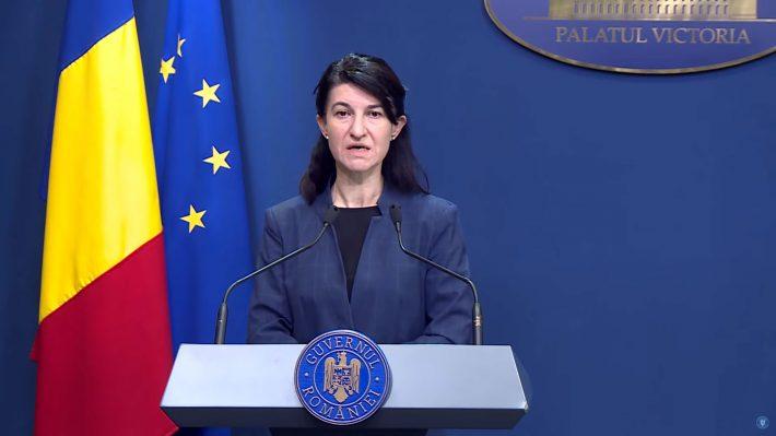 Violeta Alexandru, Ministrul-Muncii - Sursa: Gov.ro