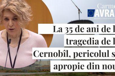 La 35 de ani de la tragedia de la Cernobîl, ale cărei efecte sunt resimțite și azi de milioane de oameni, pericolul se apropie, din nou, de Uniunea Europeană și, din nou, sursa lui -chiar și indirectă-, e Rusia.