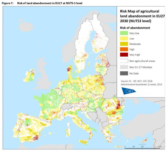 5 milioane de hectare de terenuri agricole vor fi abandonate până în 2030