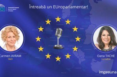 """""""Întreabă un europarlamentar"""" cu Carmen Avram"""