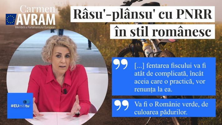 EUestitu - Râsu'-plânsu' cu PNRR în stil românesc