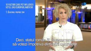 #EUeștitu - 10 factori care pot influența votul unui europarlamentar