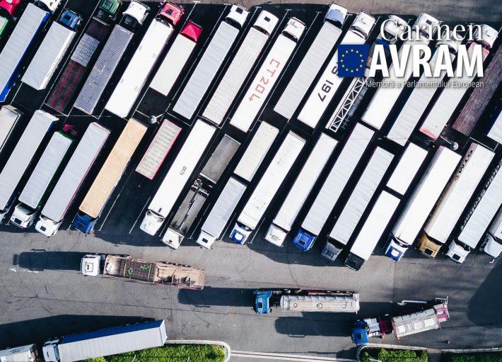 Atacurile îndreptate împotriva șoferilor de camioane confirmă nevoia construirii unor parcări protejate și sigure